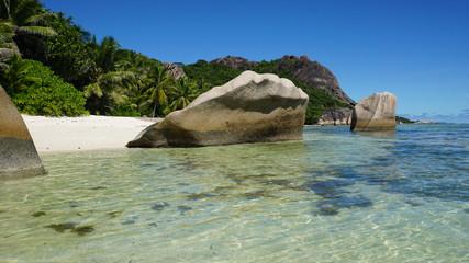 granite rocks in paradise
