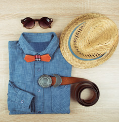 summer male clothing