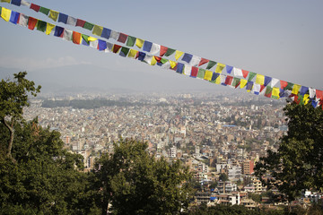 Kathmandu - general view of the city