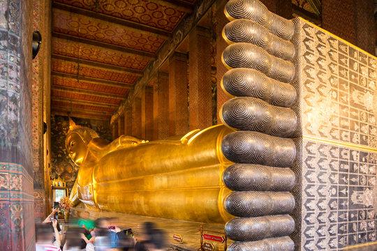 Recling Buddha