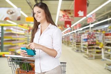 Coupon, Supermarket, Groceries.
