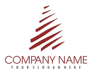 pine tree logo image vector