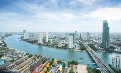 Thailand city skyline