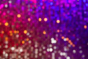 Defocused surface multicolored sparkles