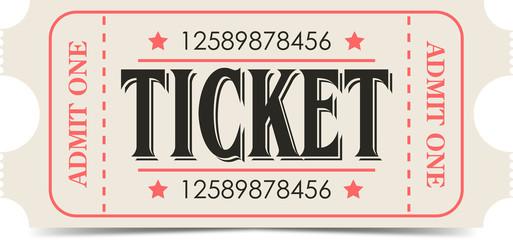 Retro ticket