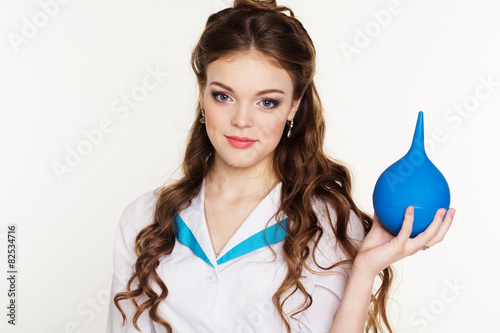 Naked boob kissing