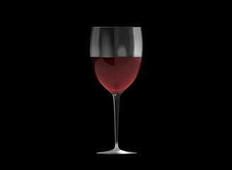Glas Wein Hintergrund schwarz