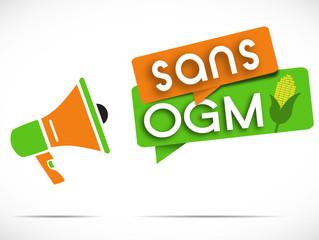 mégaphone : sans OGM