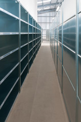 Warehouse Shelves Installation