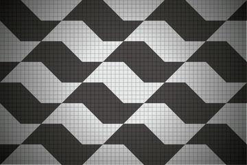 Sao Paulo sidewalk pattern