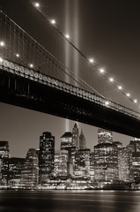 Fototapete - New York City night