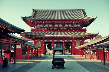 Wall Murals Place of worship Tokyo temple