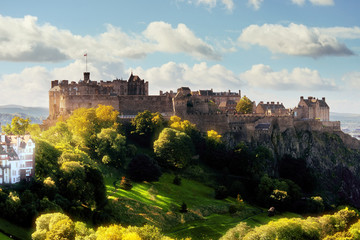Edinburgh castle Fototapete