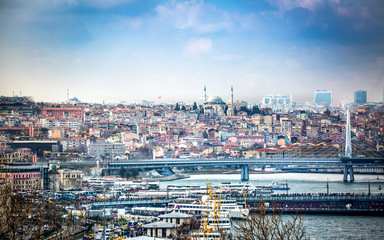 Istanbul vista.
