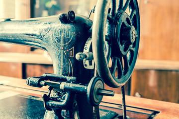 alt Nähmaschine Retro Vintage