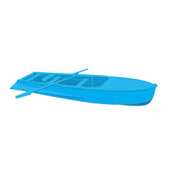 Rowing boat/ Rowing boat isolated on a white background