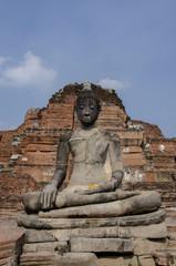 Image of Buddha in Ayutthaya, THAILAND