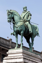 Garibaldi's statue in Milan, Italy