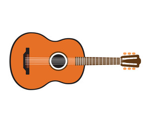 Acoustic Guitar Logo Concept
