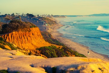 Wall Mural - Encinitas Beach in California