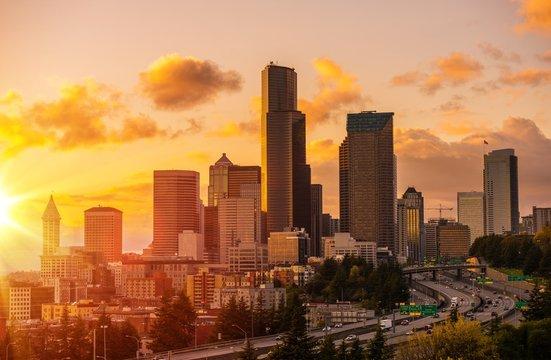 Seattle Scenic Sunset