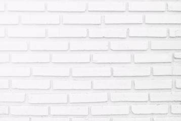 White misty brick wall for background or texture