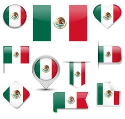 Mexico Flag Collection