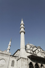 Yeni Cami, or the New Mosque, right at the Golden Horn