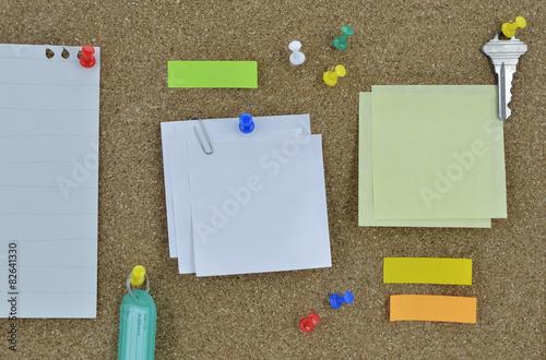 Sticky poster board