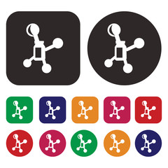 Chemical icon / Science icon