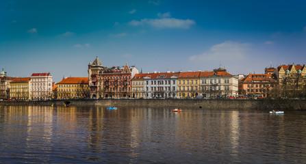 cityscape Prague