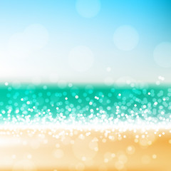 Beach abstract background