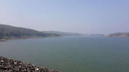 Foggy Dam