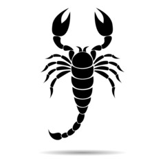 Scorpion Silhouette - illustration
