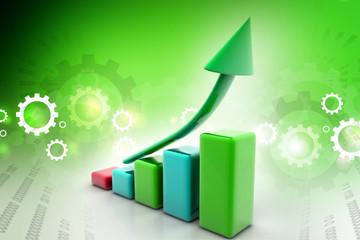 3d multi use business graph