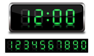 Obraz Sveglia digitale personalizzabile - fototapety do salonu