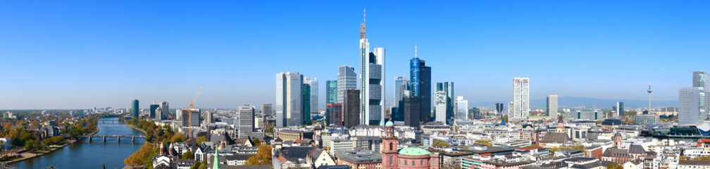 Frankfurt am Main, Blick vom Domturm (April 2015)