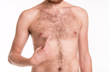 Problem with the hair on your chest