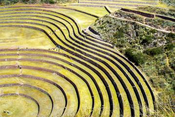 Peru, Pisac - Inca ruins in the sacred valley
