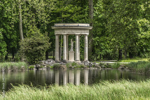 English garden jardin anglais 1817 chantilly oise picardie photo libre de droits sur la for Jardin 00 garden