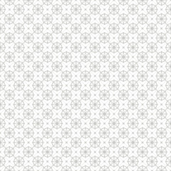 Vintage geometric line seamless pattern background
