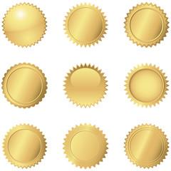 Gold Seals