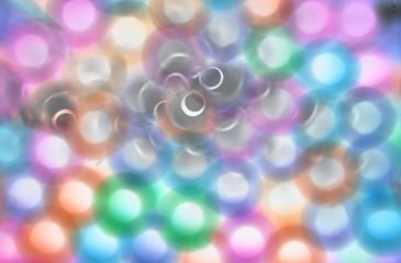sfondo con cerchi colorati