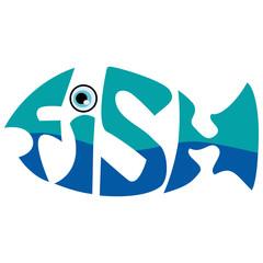 Fish Typography