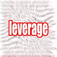 Leverage word cloud