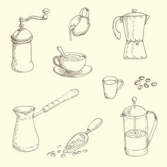 Coffe set