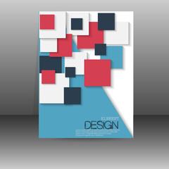 Flyer, poster, banner, brochure cover template.