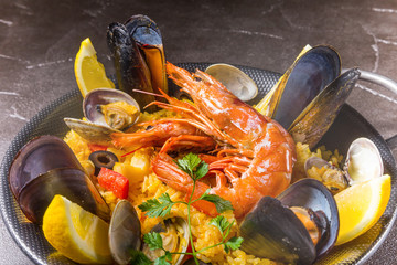 パエリア スペイン料理  Paella Spanish food
