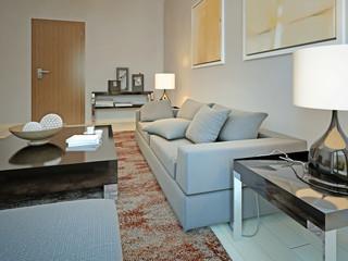 Living room vintage style