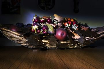 Cesto di frutta, natura morta